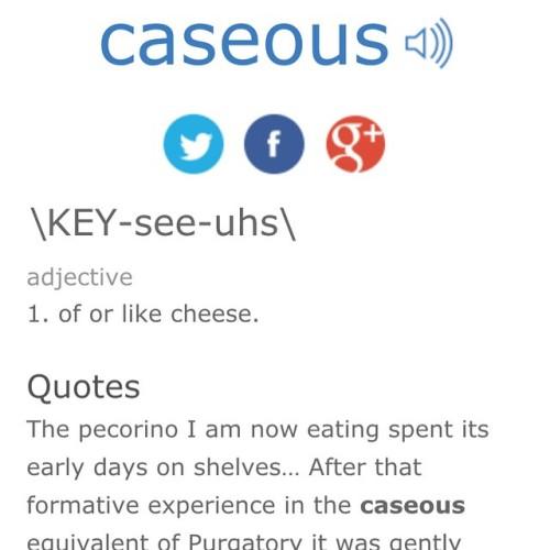 caseous