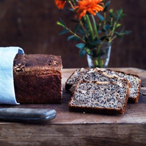 Valnötsbröd med Quinoa. Recept: Karsten Kyster Foto: Columbus Leth